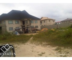 Land with 5 bedroom uncompleteness duplex for,sale